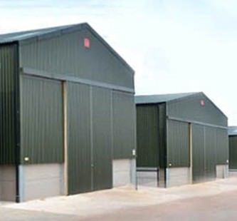 Agricultural Doors Active Security